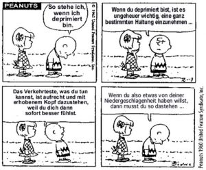 Peanuts-Depressionen